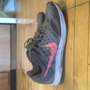 Nike Downshifter running shoes size 10